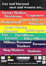 Employment rights rainbow poster